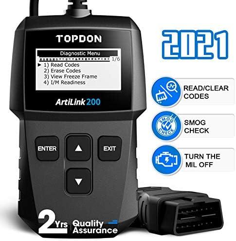 Car OBD2 Scanner Code Reader TOPDON AL200 Universal Auto Diagnostic Engine Fault Reader with product image