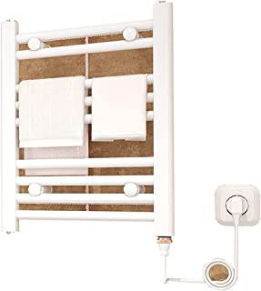Cuarto de baño Toalla eléctrico Ahorro de energía en Rack de Secado antibacterianos tendedero 150w radiador montado en la Pared