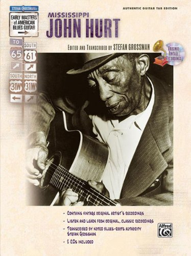 John Hurt Mississippi-Music Of Mississippi-Gitarre-BOOK+2CD