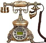ADSE Teléfono Retro Europeo/Botón de teléfono Antiguo Pasado de Moda/Teléfono de...