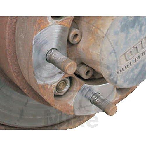 Radnabenschleifer Alu STEHBOLZ 12-teilig 40+50 mm