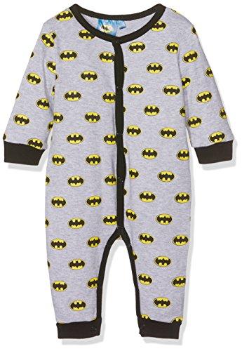 DC Comics Batman Conjuntos de Pijama, Gris (Light Grey Melange), 24 Meses para Bebés