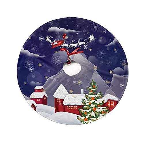 Insmart RockMerry - Árbol de Navidad (35,4'', elástico, para Adornos de árbol de Navidad)