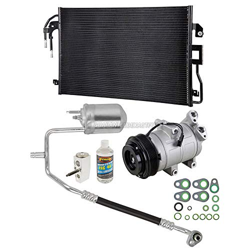 AC Compressor & A/C Kit For Ford Escape Mazda Tribute Mercury Mariner 2.5L Non-Hybrid Auto Trans 2009 2010 2011 2012 - BuyAutoParts 60-89407CK New