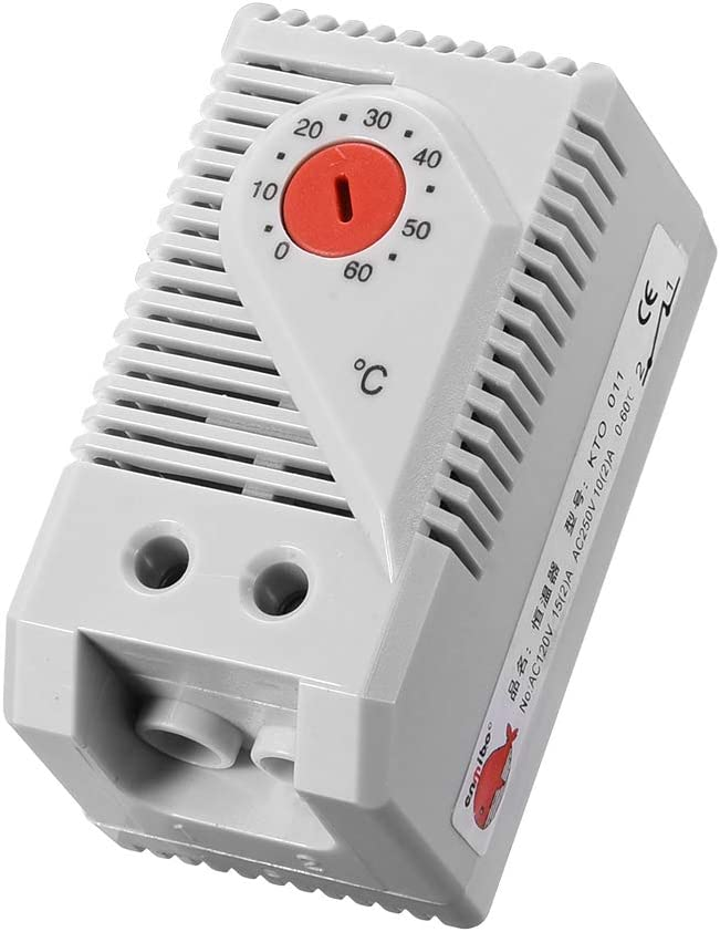 uxcell Mechanical It is very popular Selling rankings Thermostat KTO011 Compac 0-60°C Adjustable