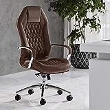 #6. Zuri Furniture Modern Ergonomic Leather Chair