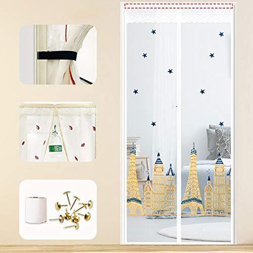cortinas baratas bordadas