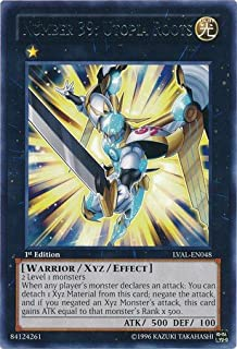 Yu-Gi-Oh!! - Number 39: Utopia Roots (LVAL-EN048) - Legacy of the Valiant - 1st Edition - Rare