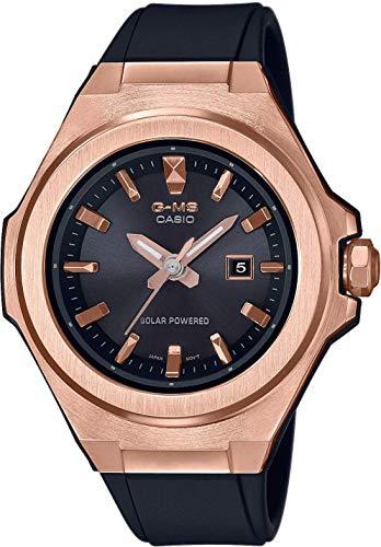 Casio Damen Analog Quarz Uhr mit Silicone Armband MSG-S500G-1AER