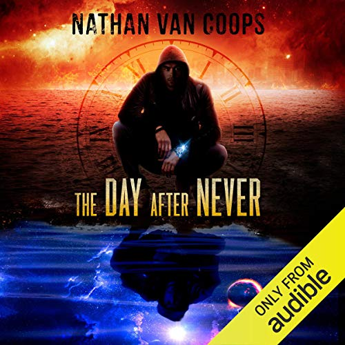 Page de couverture de The Day After Never: A Time Travel Adventure