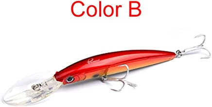 Portable 11CM//13.5g Jerkbait Durable Artificial Bait Universal Fishing TQ