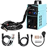 150Amp MIG Wire Welder,110V&220V AC-DC MIG&ARC&Aluminum Gas And Wire No Gas Inverter Multi-Process Welding Machine With Lcd Display Inverter Portable