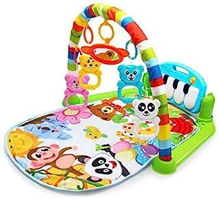 بساط للعب ومركز رياضي للاطفال - لعبة ركل والعاب لحديثي الولادة مع بيانو للاطفال الصغار