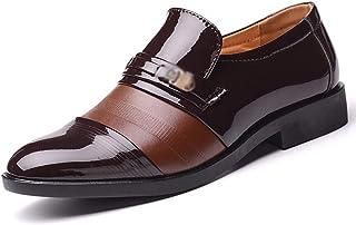 Dingziyue uomini moda business abiti Hollow scarpe scarpe uomo set di piedi Punch scarpe uomo (colore: marrone, taglia 46)