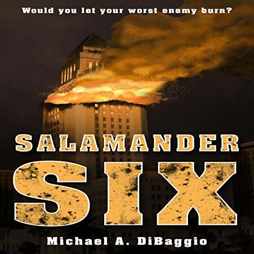 Salamander Six audiobook cover art