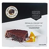 Tarta de almendra y chocolate negro corazón de Guanaja Valrhona Biscuiterie De Provence