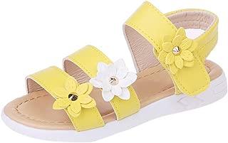 Best girls yellow sandals Reviews