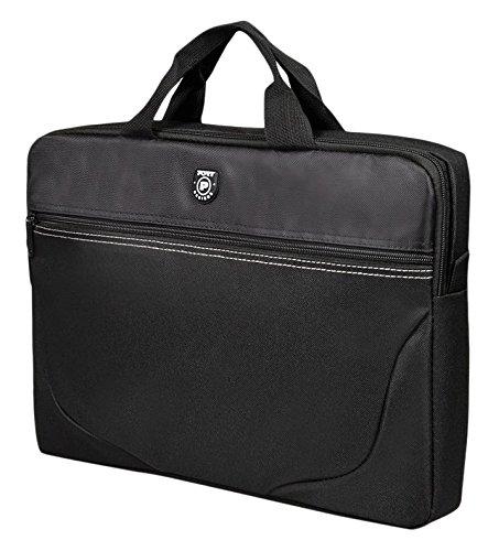 Poort Designs LIBERTY III BK - Top Loading tas compact en licht voor laptop 17
