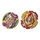 Beyblade- Bey HS Lord Spryzen and Roktavor R5 (Hasbro E7729ES0)