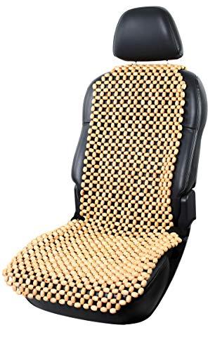 lacy - wood Holzkugel Holzperlen Massage Sitzauflage Sitzbezug Sitzmatte Sitzaufleger Sitzbelüftung Natur