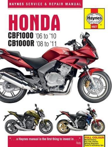 Honda CBF1000 (06 - 10) & CB1000R 2008 - 2011 (Haynes Service & Repair Manual)