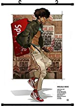 Mxdza New Japanese Anime Megalo Box Joe Fabric Painting Anime Home Decor Wall Scroll Posters for Decorative 40x60CM