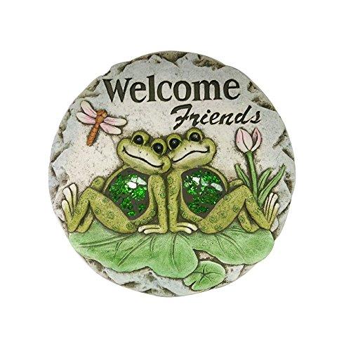 Comfy Hour Farmhouse Home Decor Collection 10' Frog Garden Stepping Stone, Concrete