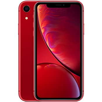 Apple iPhone XR (64GB) - (PRODUCT)RED (incluye Earpods, adaptador de corriente)