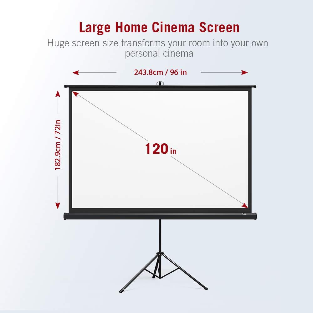 TaoTronics TT-HP020 - Pantalla de proyección para proyector ...