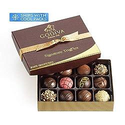 Godiva Chocolatier Patisserie Chocolate Truffle Gift Box, Chocolate Treats, Great as a Gift, Premium