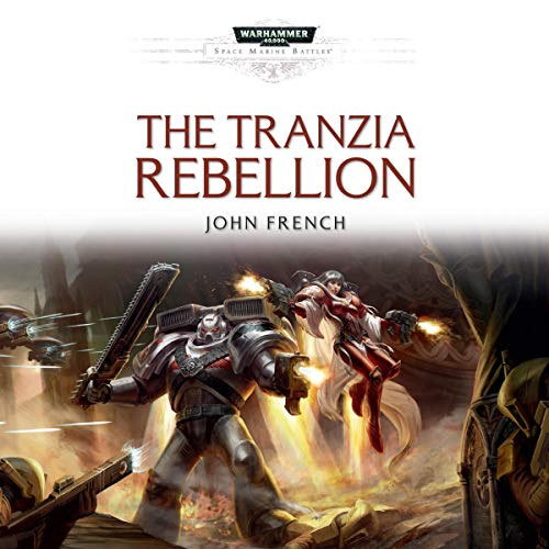 The Tranzia Rebellion audiobook cover art