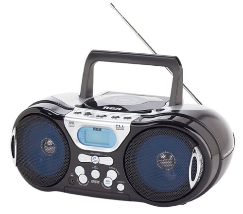 rca boomboxes 2 RCA RCD147 Portable CD Player with AM/FM Tuner