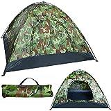 MT Malatec 10140 Tente dôme étanche pour 4 personnes 190 x 190 x 125 cm