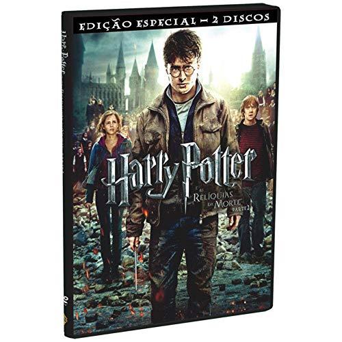 Dvd - Harry Potter e as Reliquias da Morte Parte 2 Edição Especial Duplo