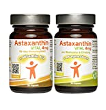 Doppelpack - Astaxanthin VITAL Vitamin D3 & Magnesium - Sparpack 60 Kapseln