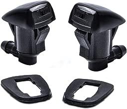 OTUAYAUTO Front Windshield Washer Nozzles - for Jeep Grand Cherokee   Chevrolet Malibu   Pontiac G6   Saturn Aura - Replaces OEM #: 55372143AB, Spray Jet Kit (pack of 2)