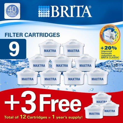 BRITA Maxtra Filterkartuschen 9+3 Pack