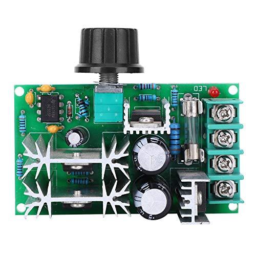 Les-Theresa Módulo de control de velocidad: módulo de controlador de velocidad de motor de CC, regulador de potencia del regulador PWM, ventilador 12V24V36V48V 20A