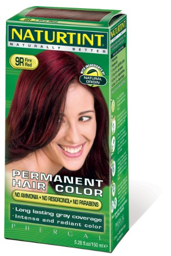 Naturtint 135ml cheveux colorant rouge feu