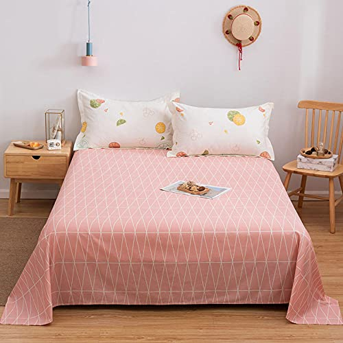 DSman Protector de colchón/Cubre colchón Acolchado, antiácaros, Sarga Simple Estampada de algodón-9_150 * 200cm
