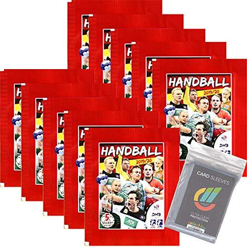 CAGO Handball Bundesliga 2019/20 Sammelsticker- 10 Tüten