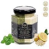Roher Honig mit Zitrone