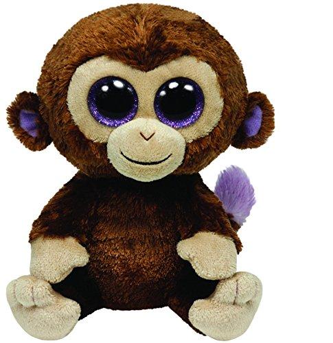 Ty 36003 Beanie Boos Coco - Chimpancé de peluche (15 cm)