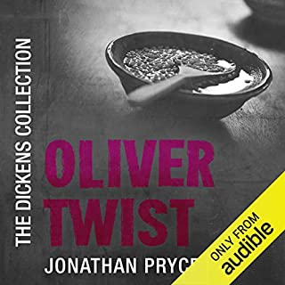 Oliver Twist                   By:                                                                                                                                 Charles Dickens                               Narrated by:                                                                                                                                 Jonathan Pryce                      Length: 18 hrs and 16 mins     2 ratings     Overall 5.0