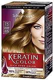 Schwarzkopf Keratin Color Permanent Hair Color Cream, 7.5 Caramel Blonde (Packaging May Vary)