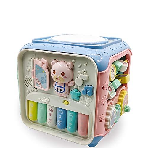 Nye Cubo de Actividades para niños, Juguetes Musicales educativos para niños, Juguetes de Aprendizaje para el Desarrollo temprano, niños