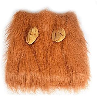 Spoiling Our Pets Lion Halloween Dog Mane Costume for Pet Dress Up