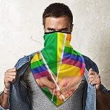Bufanda a prueba de viento para la cara, las manos, las manos, las olas, el orgullo Gay, la bandera del arco iris, la bufanda, el deporte, el cuello, la polaina, la bufanda para la cara, el pañuelo