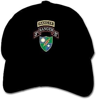 ADGoods Kids Children 3rd Battalion 75th Ranger Regiment with Ranger Baseball Cap Adjustable Trucker Cap Sun Visor Hat For...
