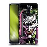 Head Case Designs sous Licence Officielle Batman DC Comics Le Clown Three Jokers Coque en Gel Doux Compatible avec Xiaomi Redmi Note 8 Pro